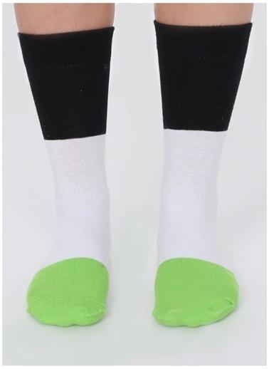 Socks+Stuff Socks&Stuff 3'lü Sushi Çorap Somon